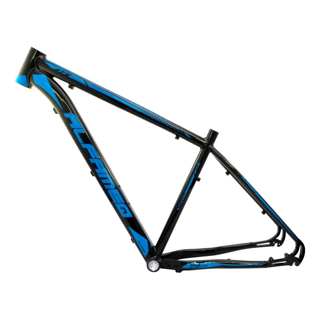 Quadro 29 Aluminio ATX19 Preto Brilhante/Azul