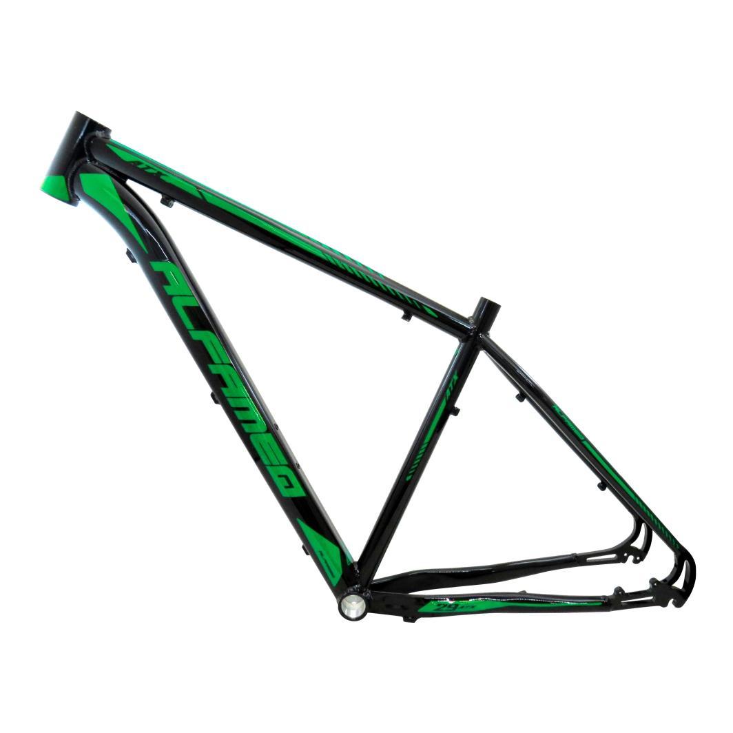 Quadro 29 Aluminio ATX19 Preto Brilhante/Verde