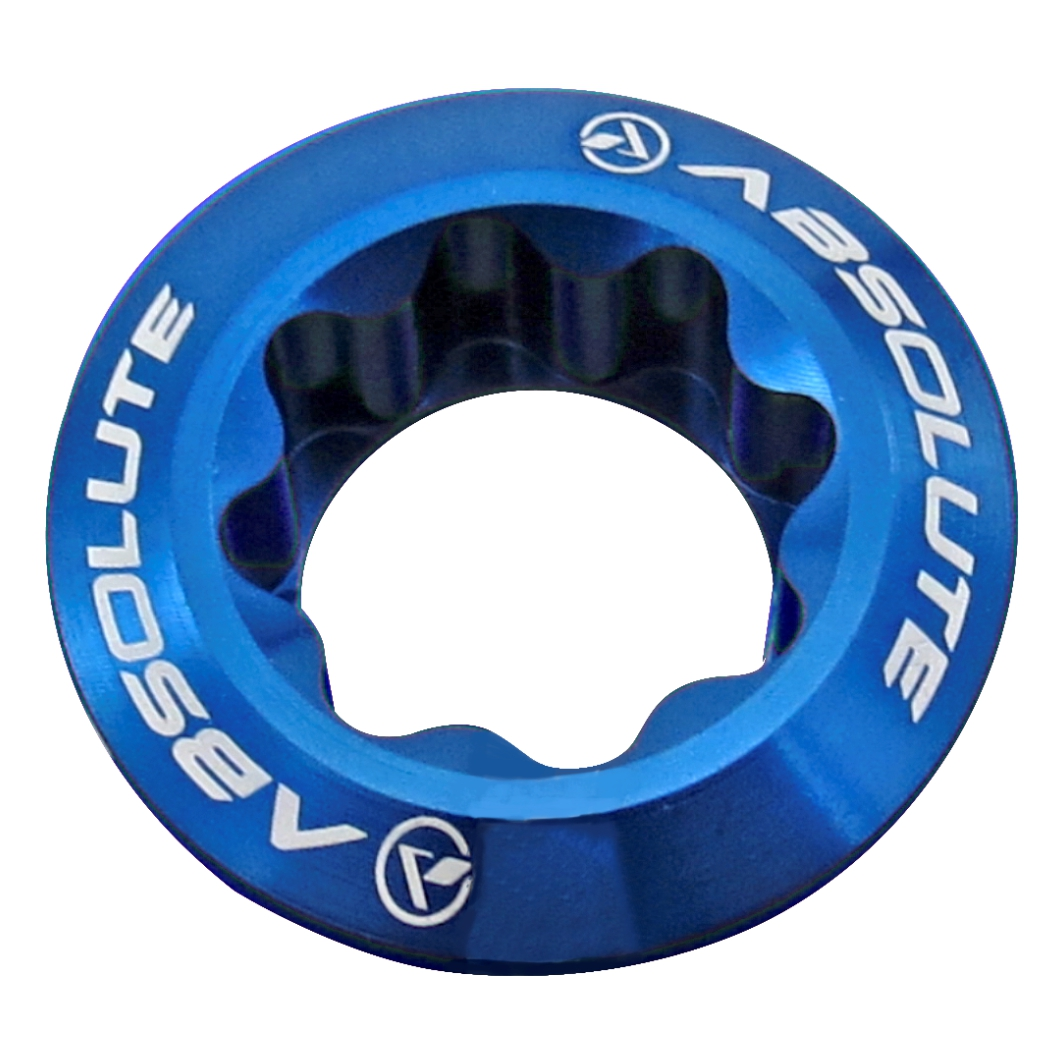 Parafuso Fixação Pedivela Hollow Alumini Azul