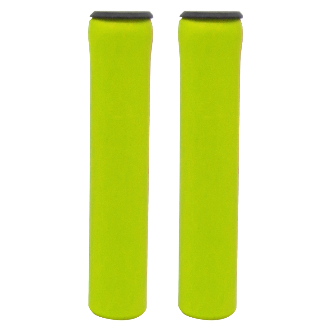Manopla MTB Silicone Neon Amarela