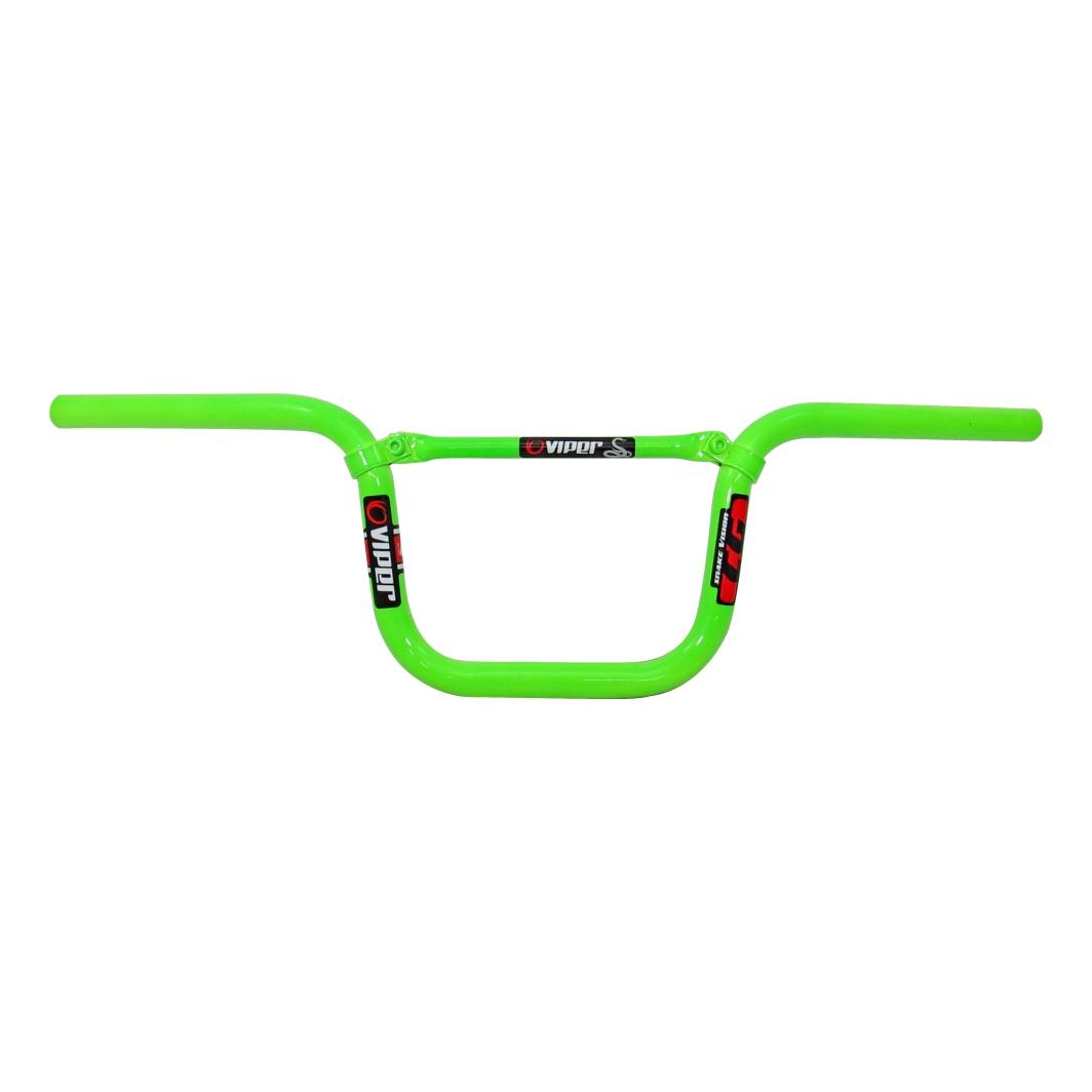 Guidão 26 Aluminio T/Cg C/Travessa Neon Verde