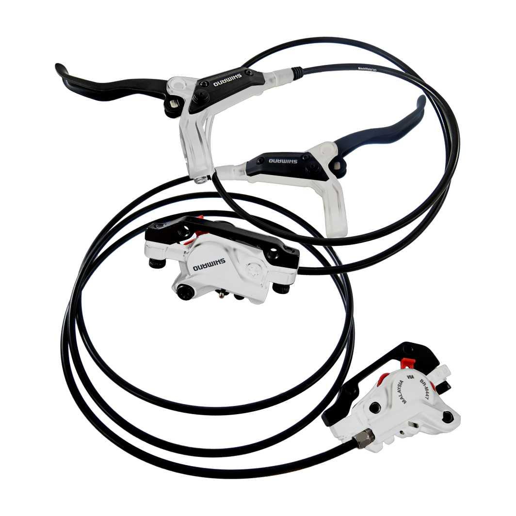 Freio A Disco SH D/T Hidraulico Branco S/Disco
