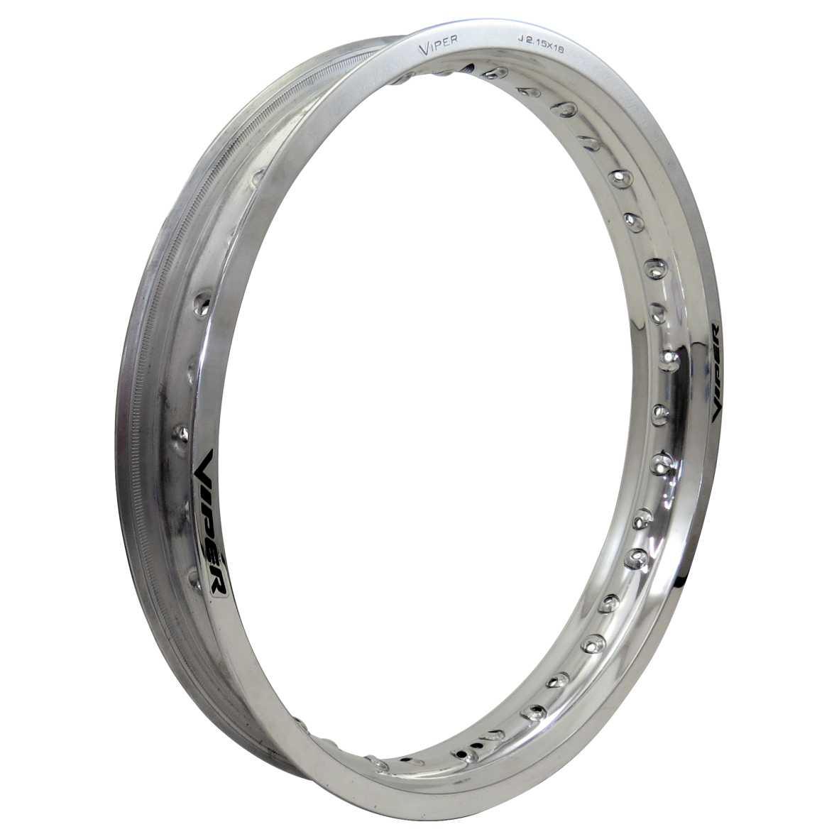 Aro Aluminio Traseiro 215X18 Prata