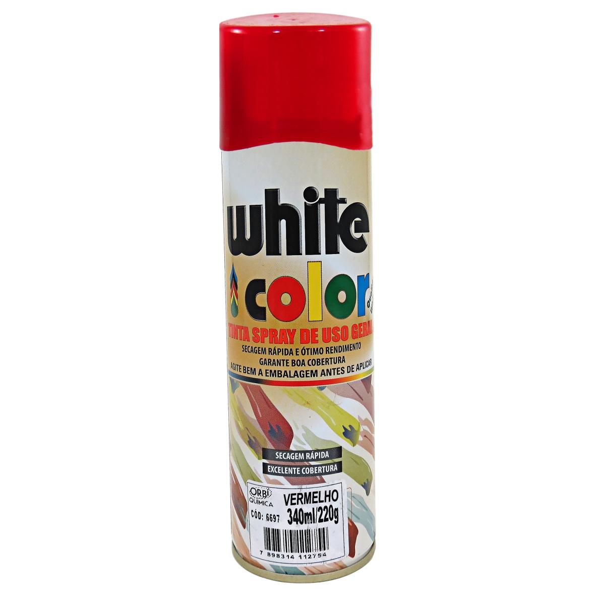 Tinta Spray Vermelho Brilhante 340ml