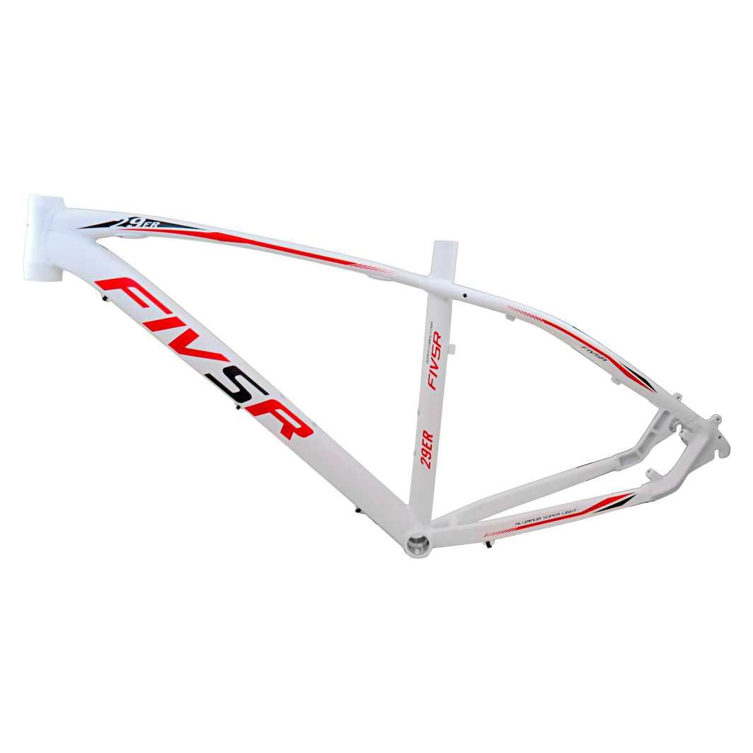 Kit 29 Aluminio M 82018 Branco Fosco C/Vermelho