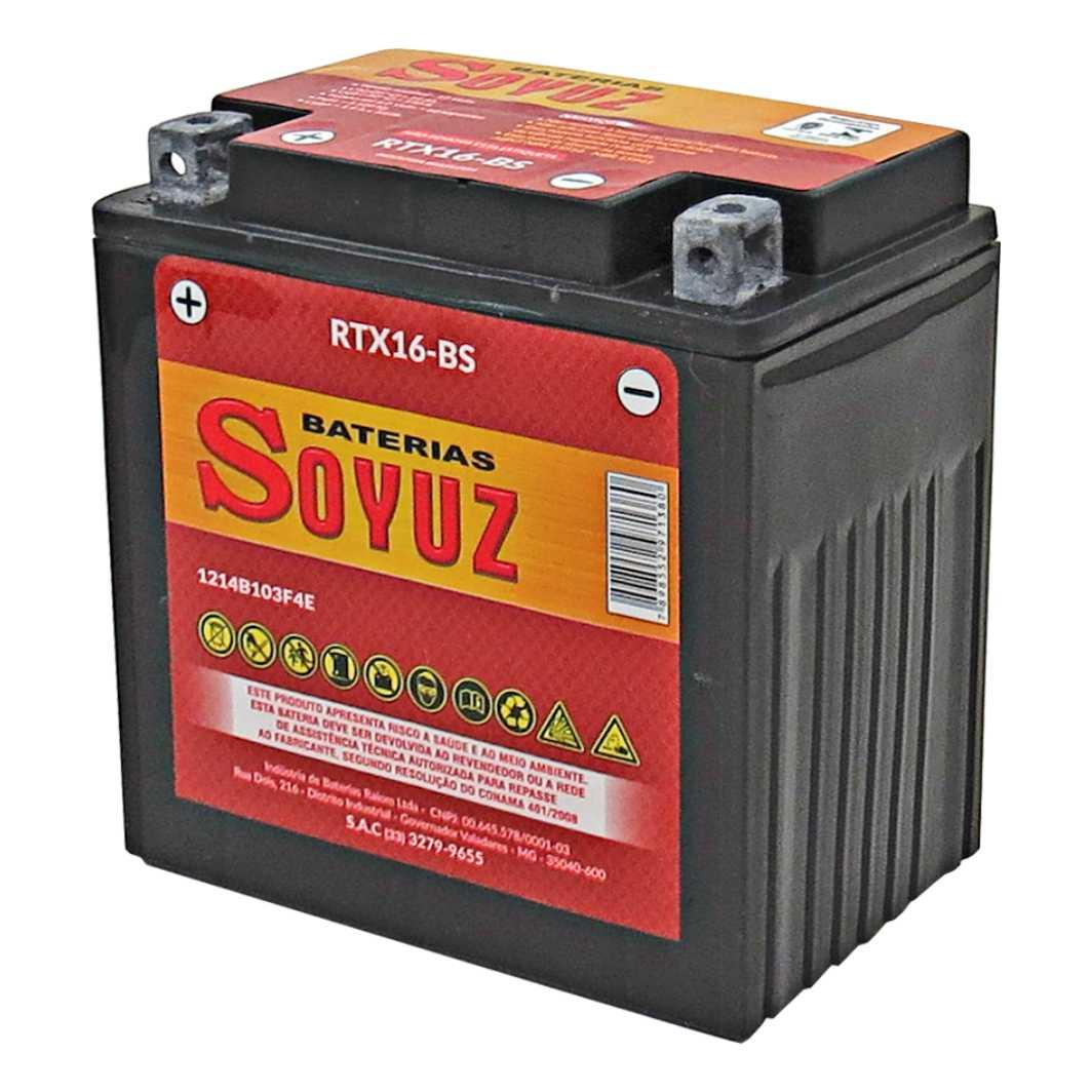 Bateria RTX16-BS 12V 16AH Kawasaki 1100