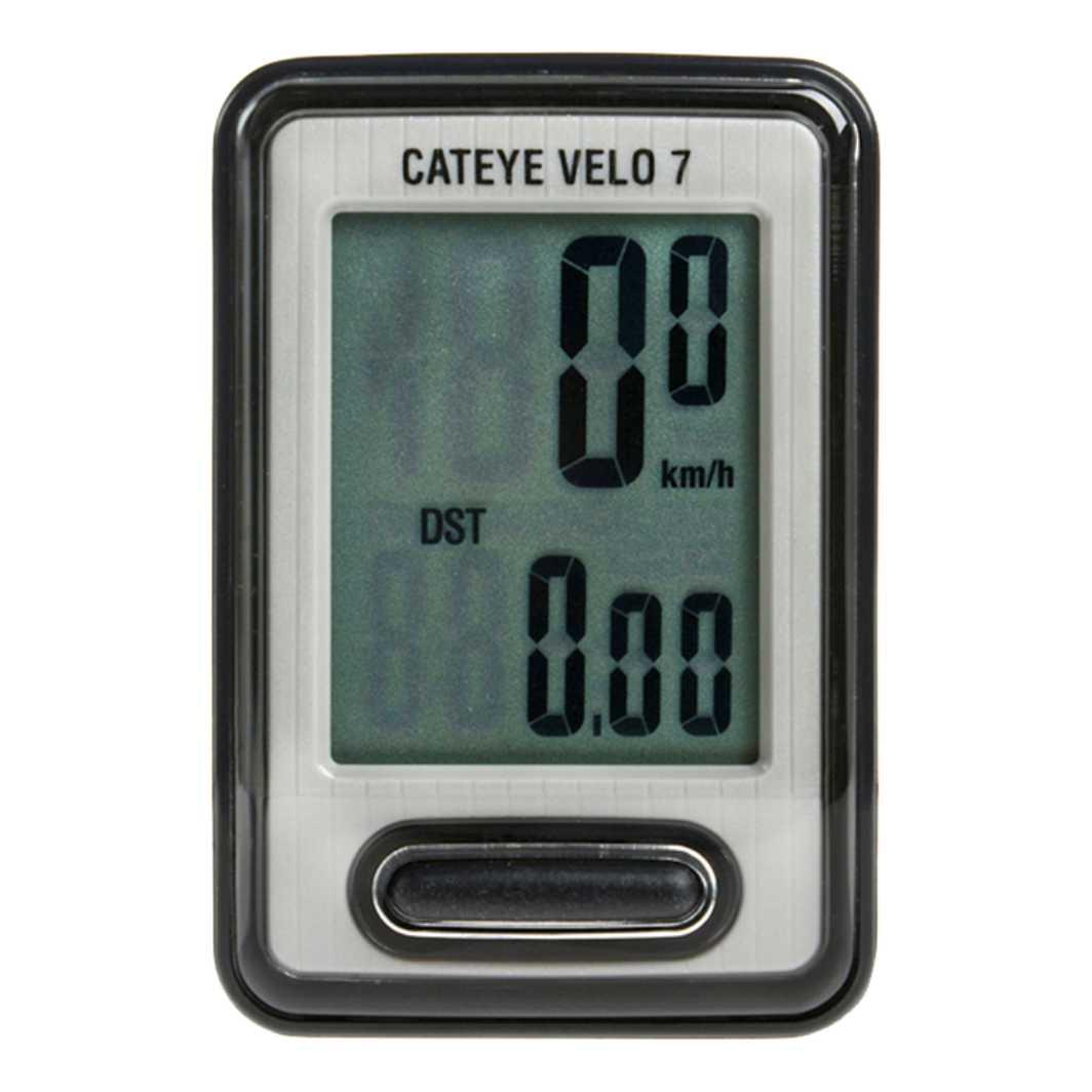 Velocimetro Digital 7F Velo 7 Preto VL520