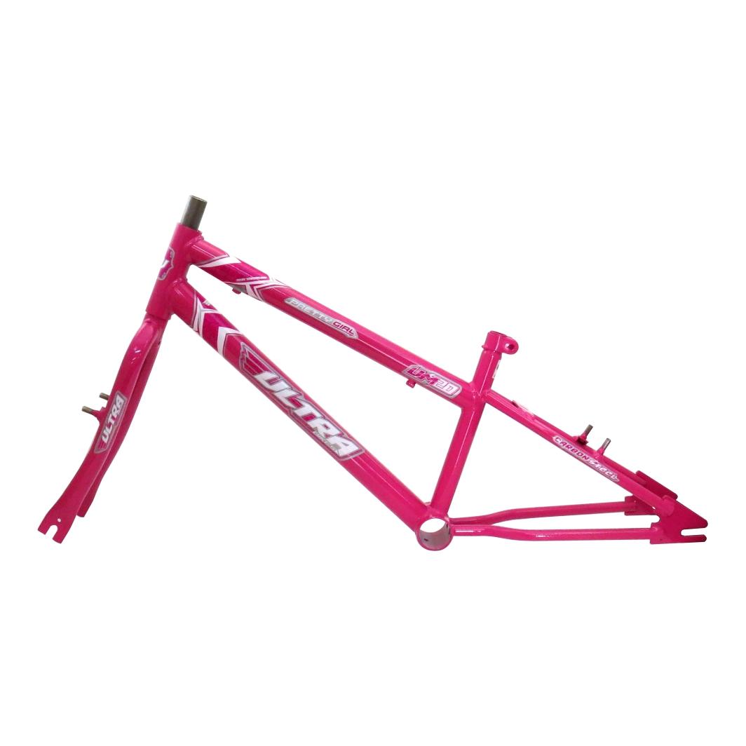 Kit 20 Rebaixado Rosa C/Pivo