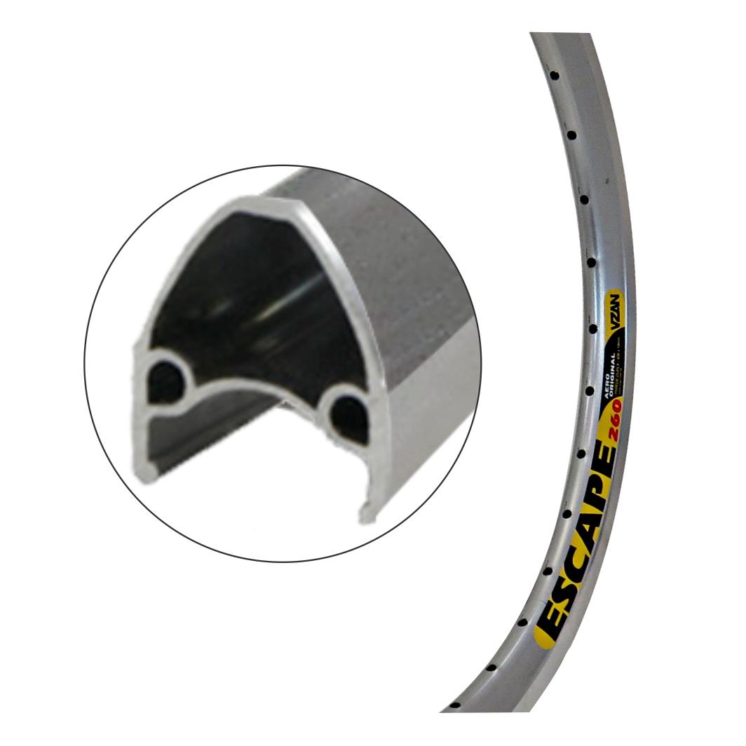 Aro Aluminio 20 Escape Polido
