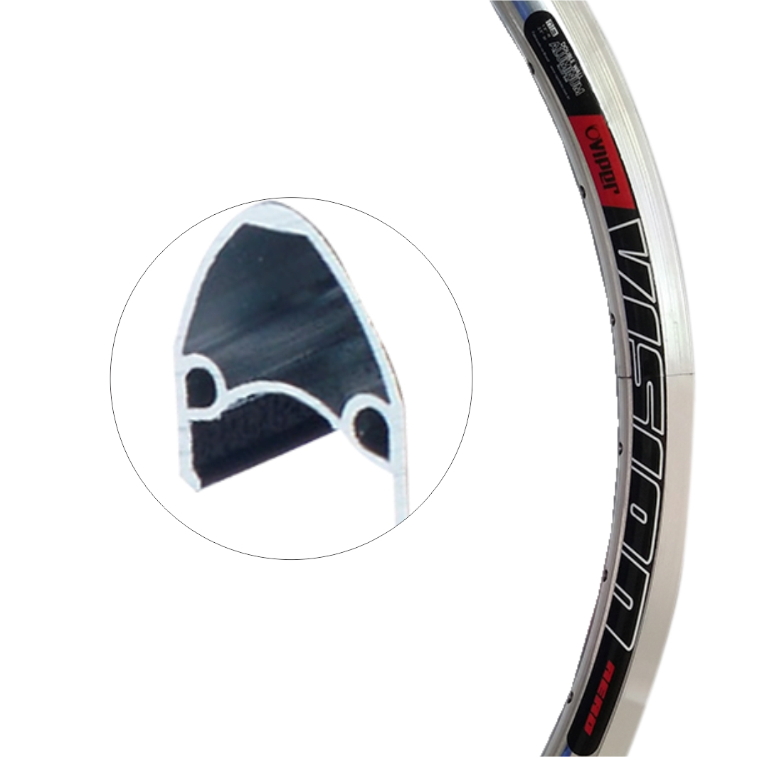 Aro Aluminio 24 Vision Polido
