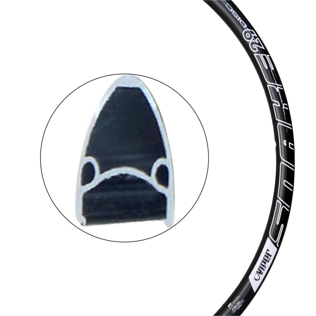 Aro Aluminio 29 Snake 36F Disco Preto/Branco