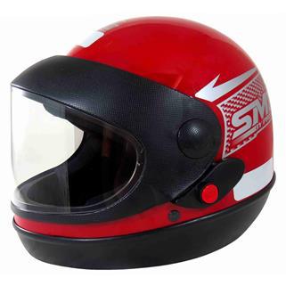 Capacete Sport Moto Tam.56 Vermelho PRO TORK