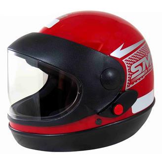 Capacete Sport Moto Tam.58 Vermelho PRO TORK