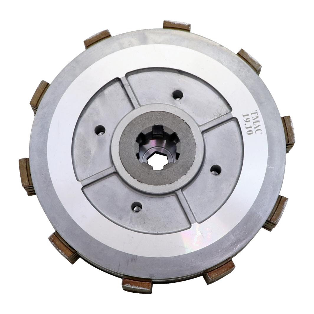Cubo+Plator Embreagem Completa FAZER 250 06-07