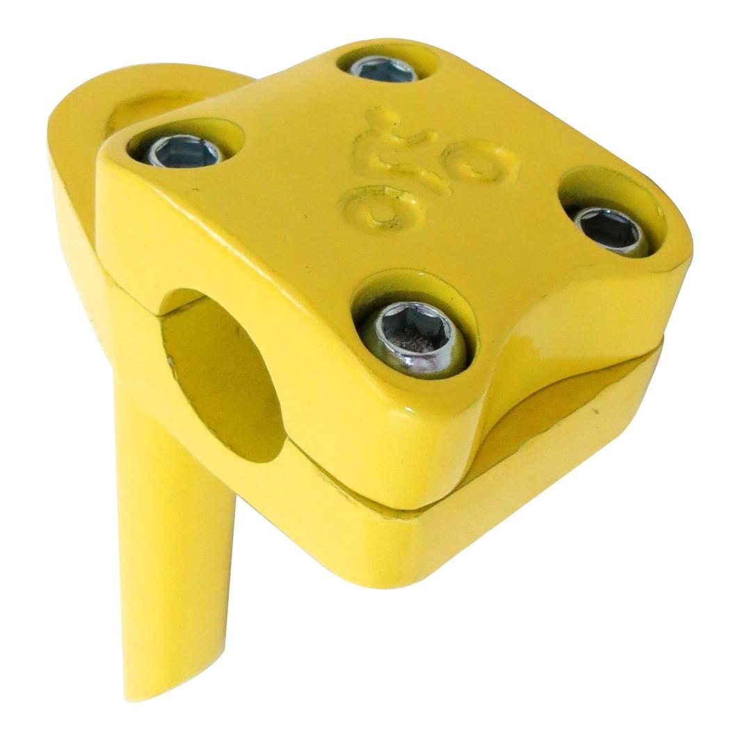 Suporte Guidão Aluminio X-Free Amarelo