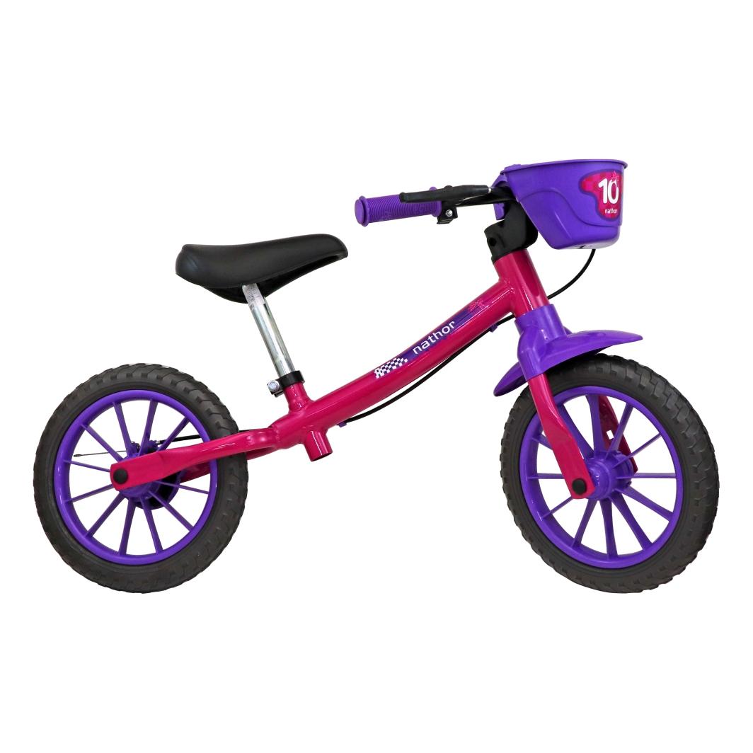 Balance Bike Rosa Feminina