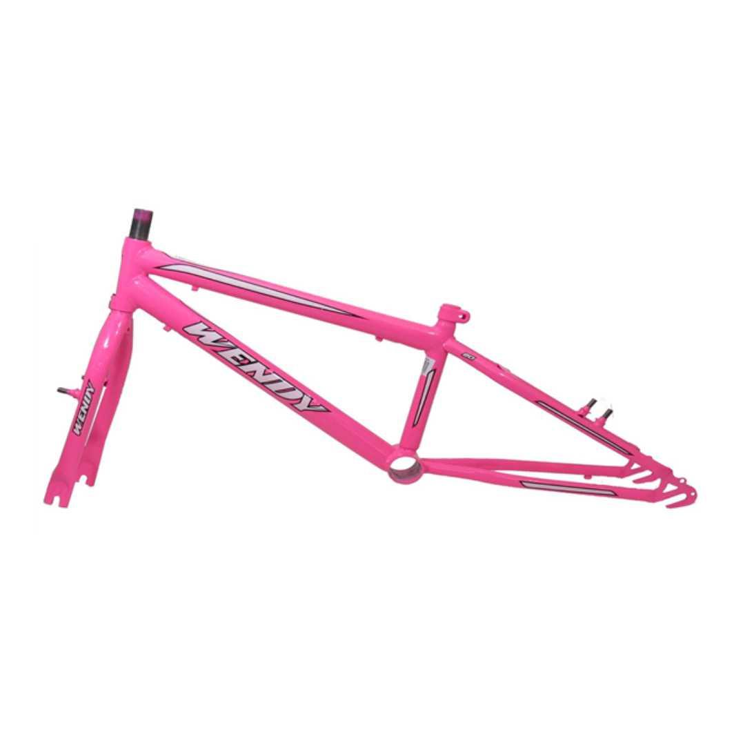 Kit 20 Rebaixado Rosa Chiclete C/Pivo