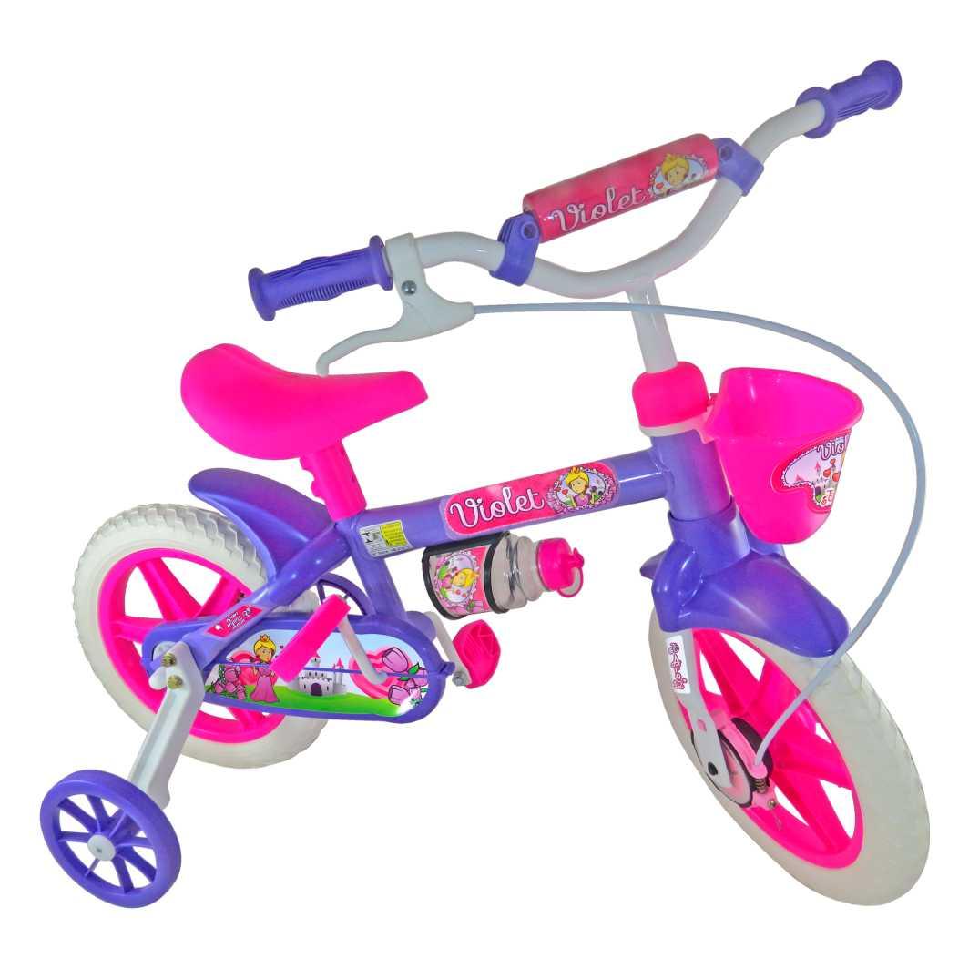 Bicicleta Aro 12 Violeta
