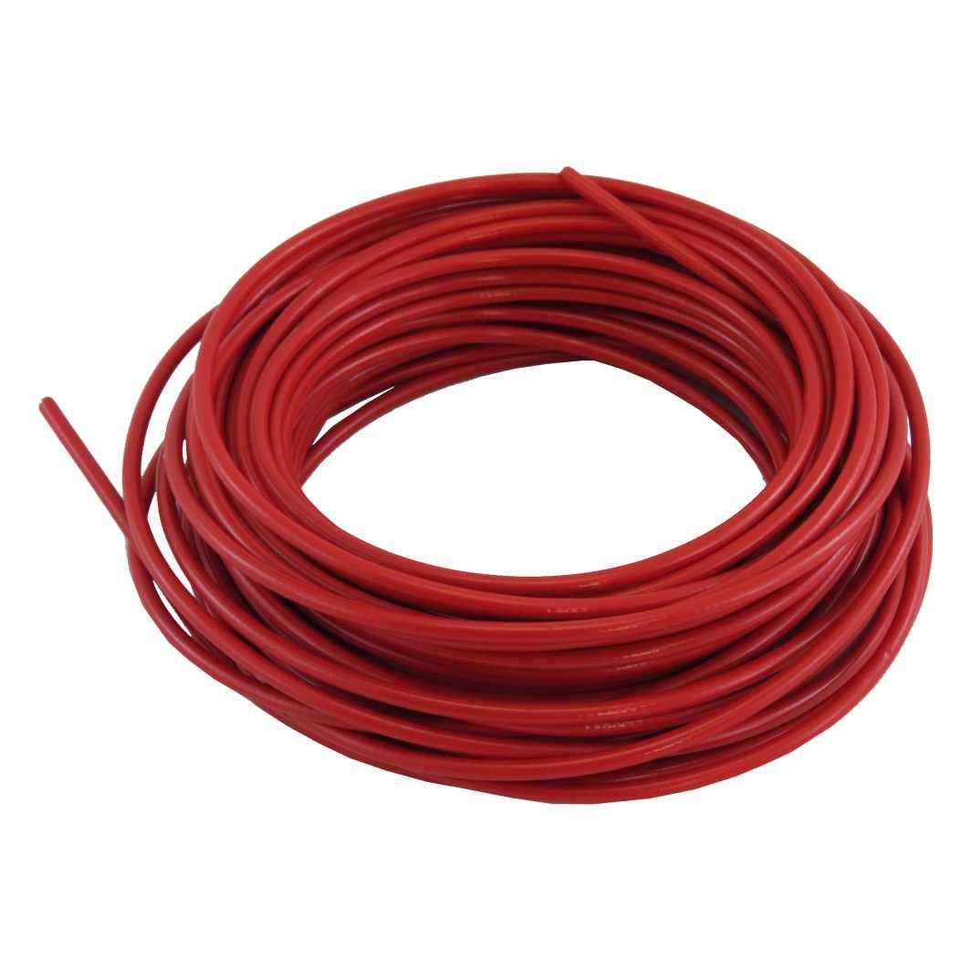 Conduite Rolo c/20m Vermelho c/Teflon