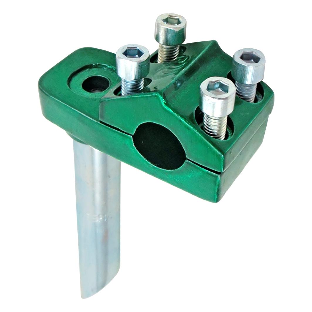 Suporte Guidão Aluminio Frestyle Verde