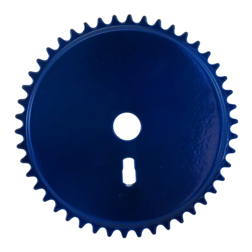 Engrenagem 46D Fechada Azul