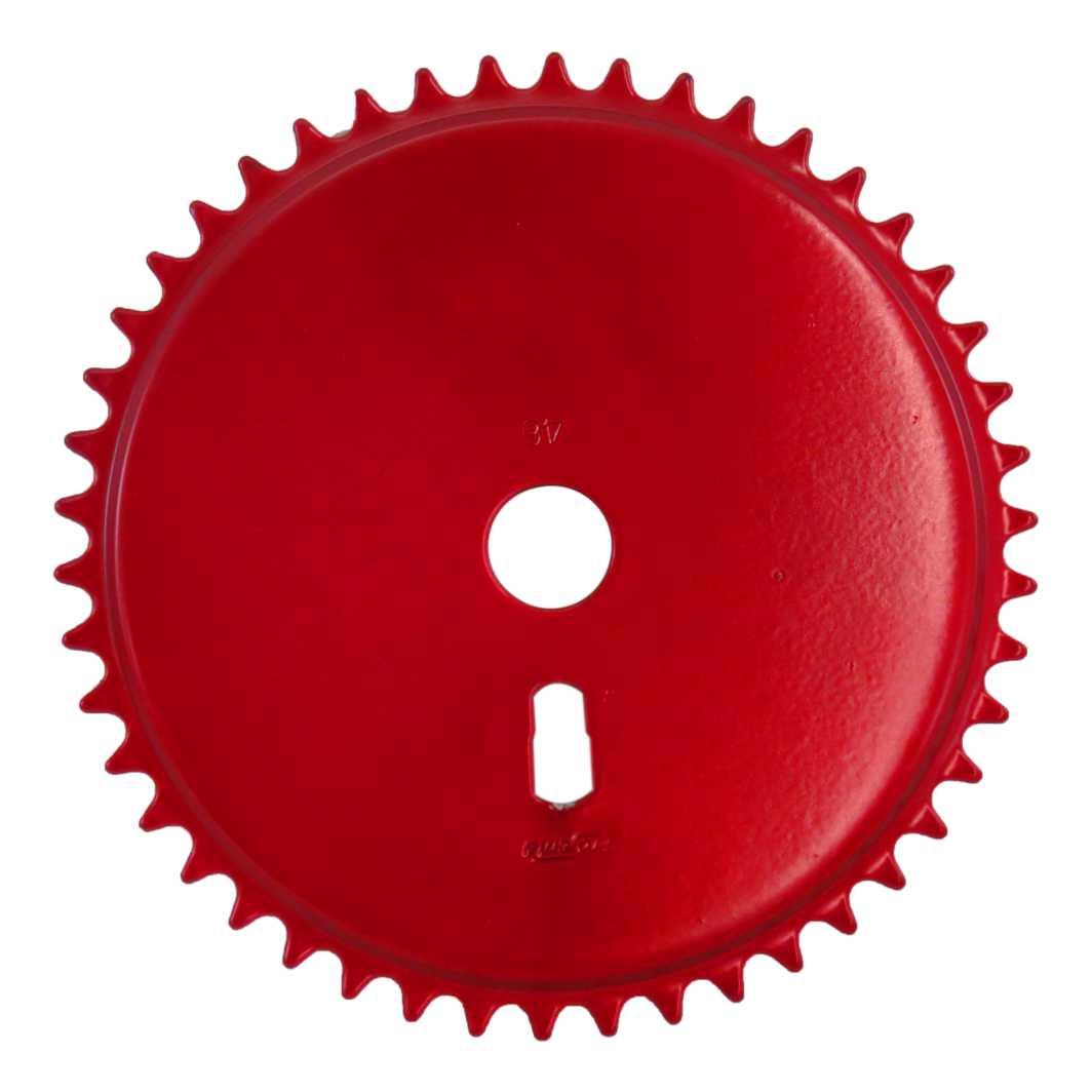 Engrenagem 46D Fechada Vermelha