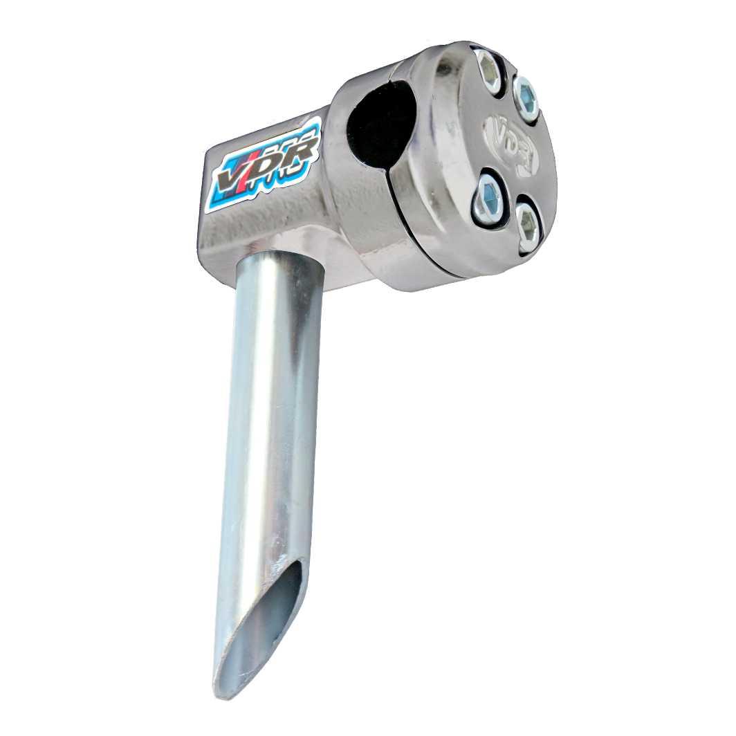 Suporte Guidão Aluminio Piston Prata