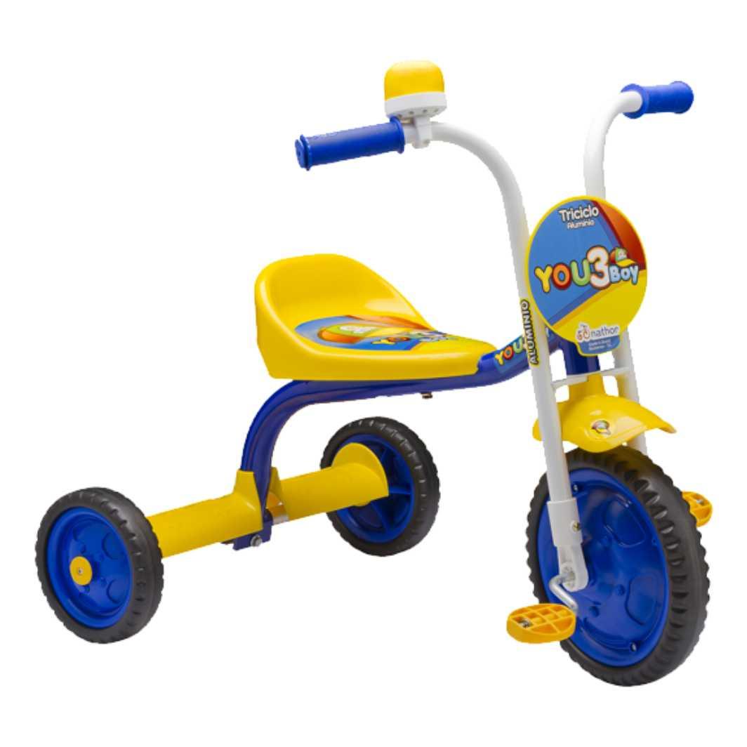 Triciclo Aro 5 You 3 Boy Azul/Amarelo