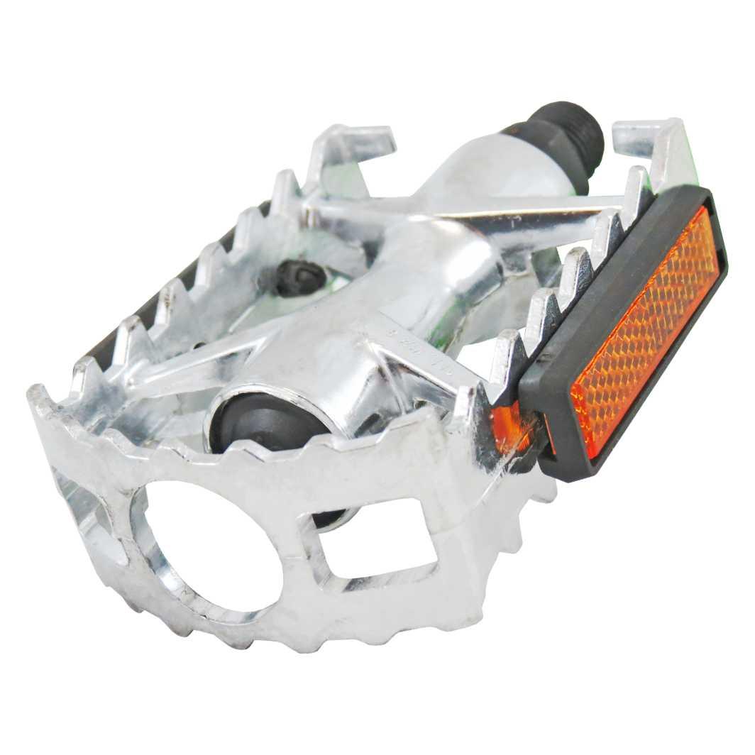 Pedal C/Esfera Ingles Alumínio MTB Polido