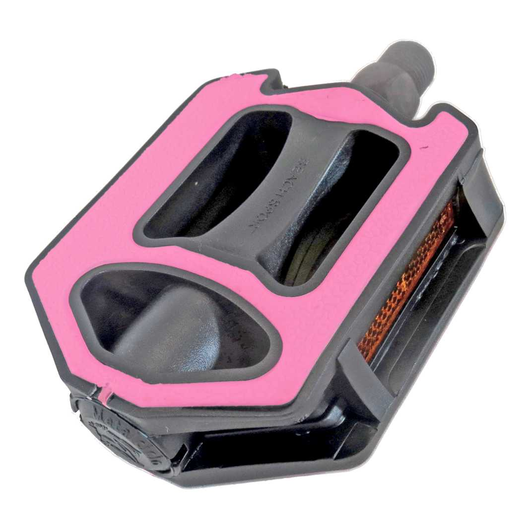 Pedal Sueco Soft Rosa-Preto