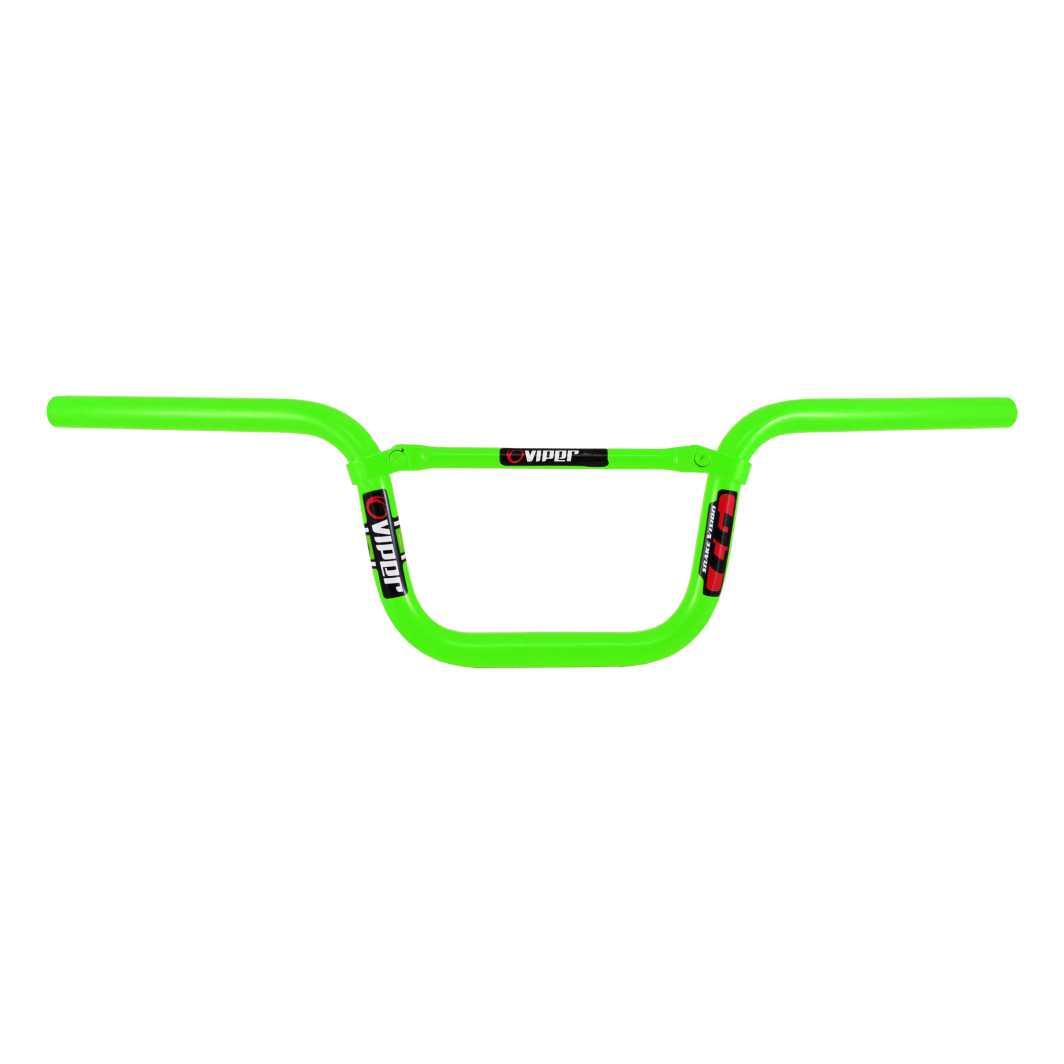 Guidão 26 Aluminio T/TITAN c/Travessa Neon Verde