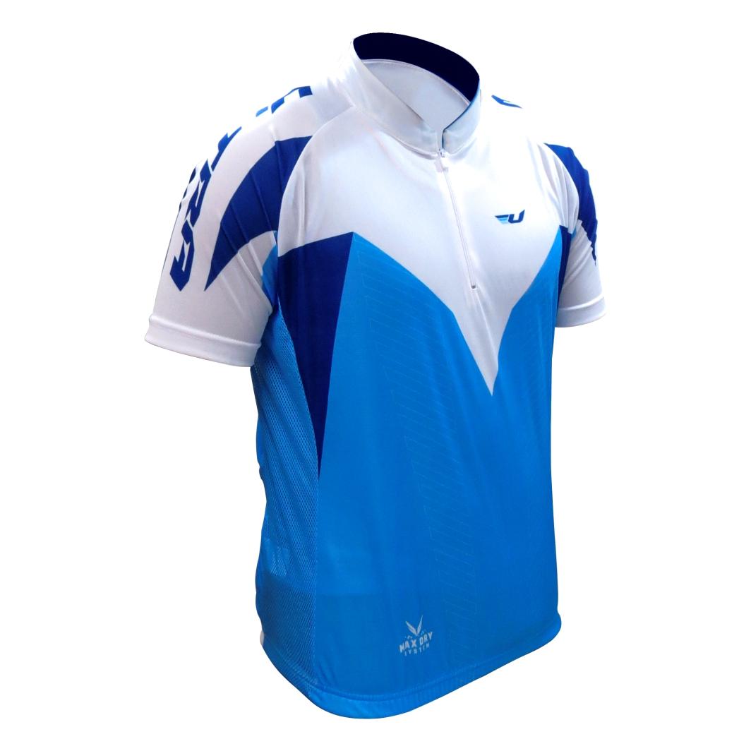 Camisa Max Dry Azul/Branca M