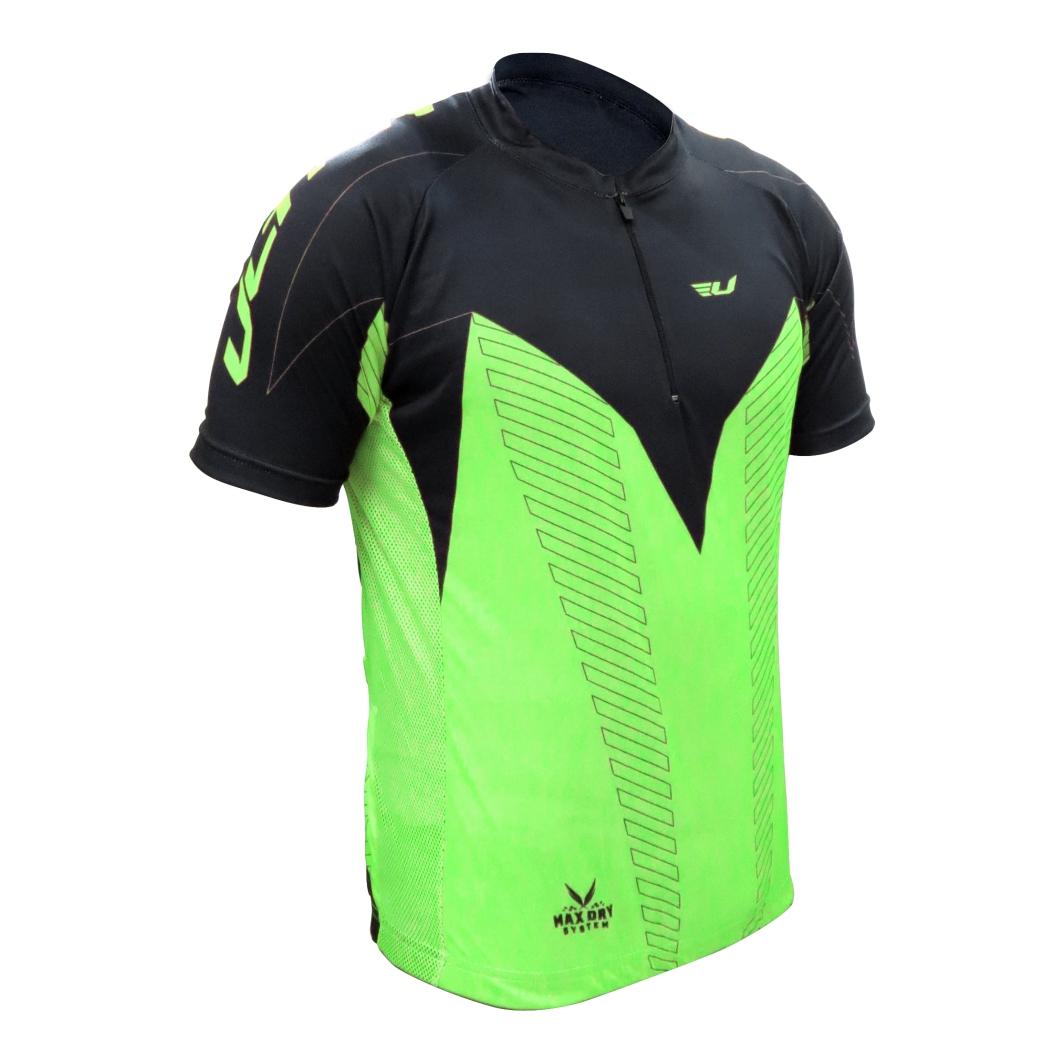 Camisa Max Dry Verde/Preta M