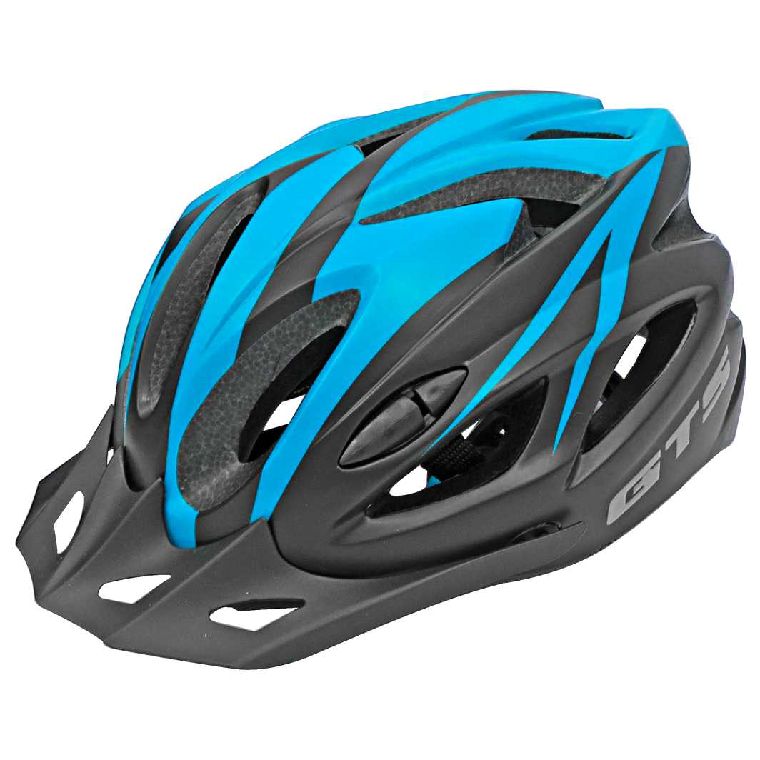 Capacete P/Ciclista WT12 M Azul Tiffany Fosco Led