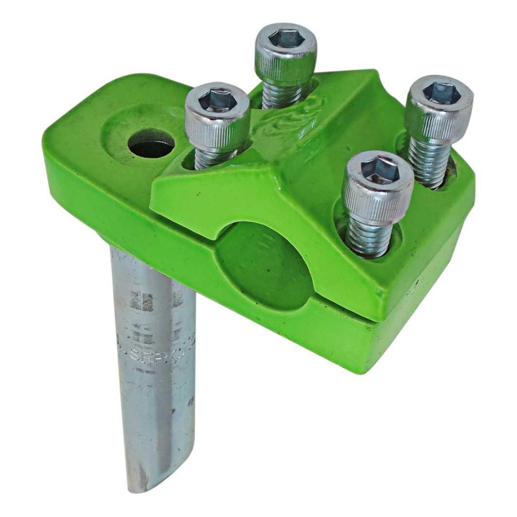 Suporte Guidão Aluminio Frestyle Neon Verde