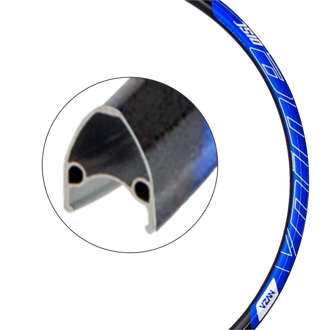 Aro Aluminio 29 Vnine 36F Disco Preto/Azul