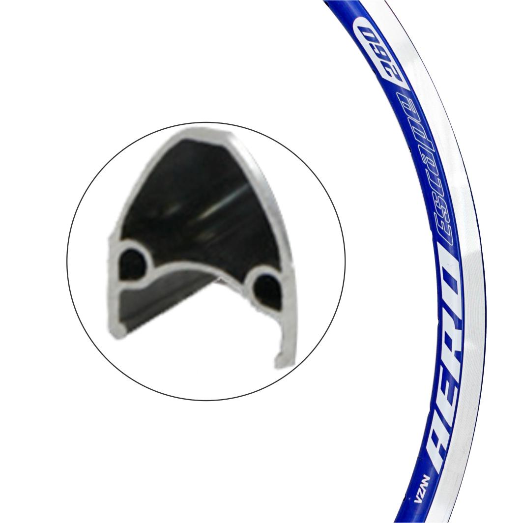 Aro Aluminio 26x1x1.1/2 Escape Azul