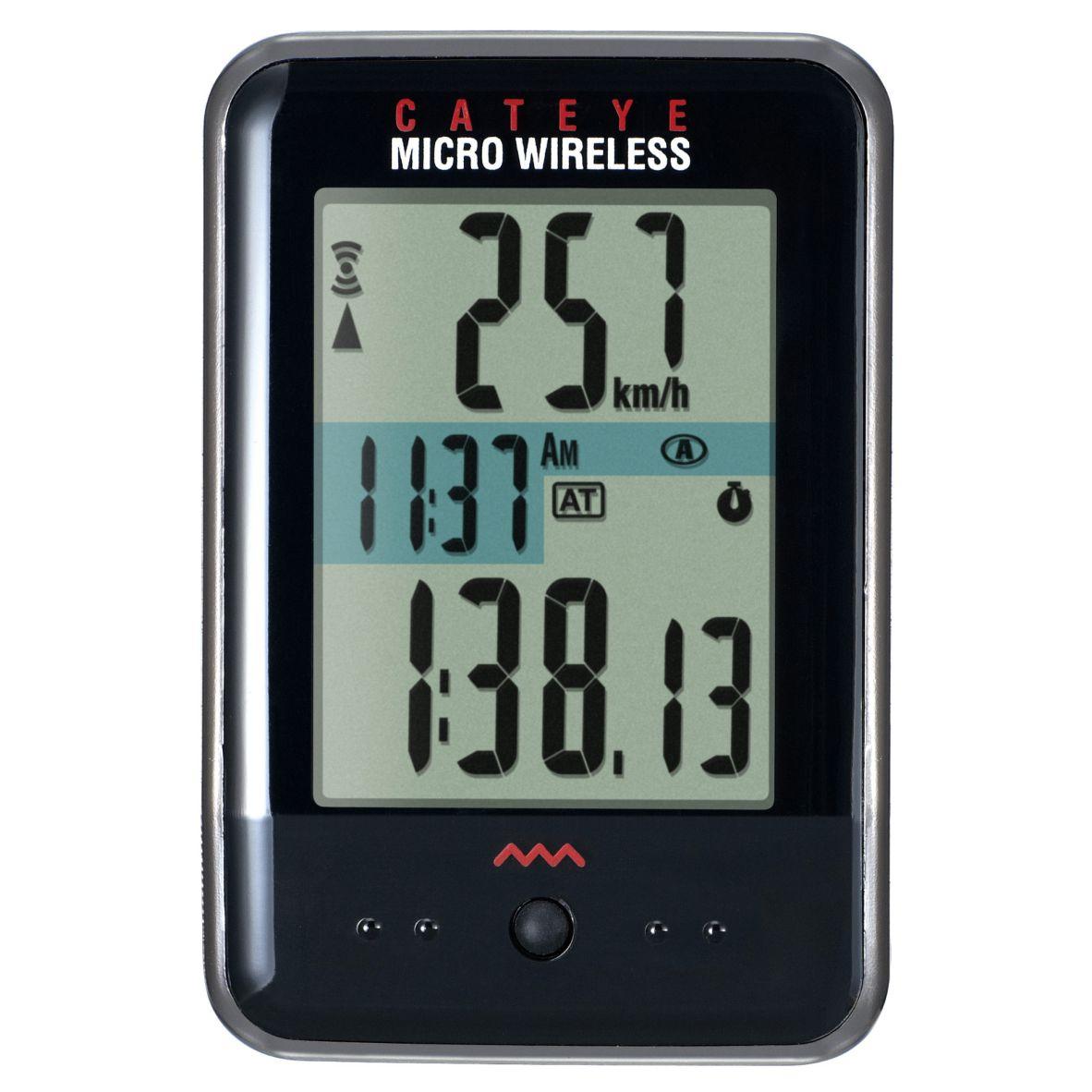 Velocimetro Digital Wless 10F Micro Preto