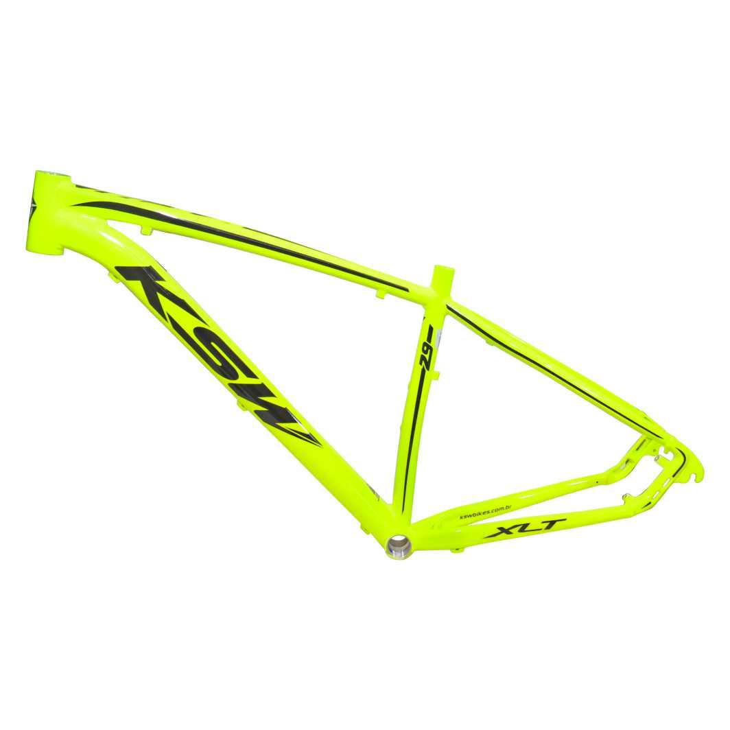 Quadro 29 Aluminio XLT 17 Neon Amarelo C/Preto