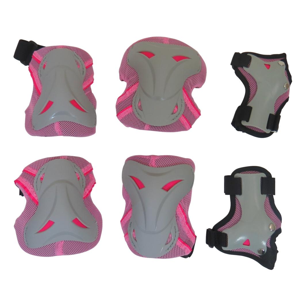 Kit Proteção Infantil Rosa Joelho/Cotovelo
