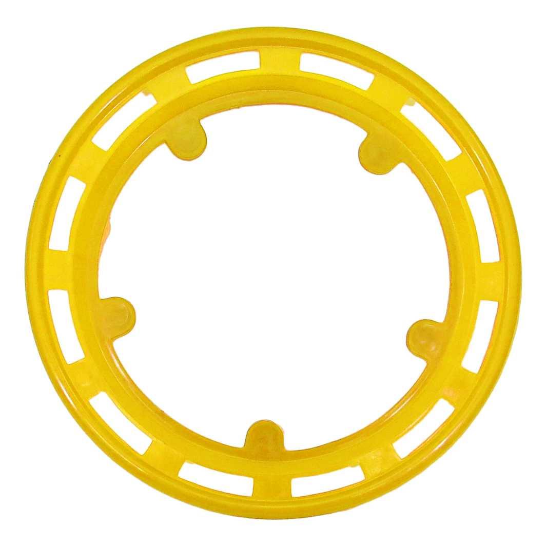 Protetor Plastico 5FT/MK Largo Amarelo