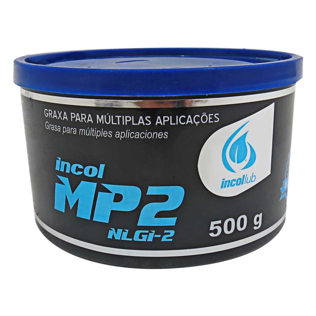 Graxa MP2 NLGI-2 Multiuso AZUL  500G