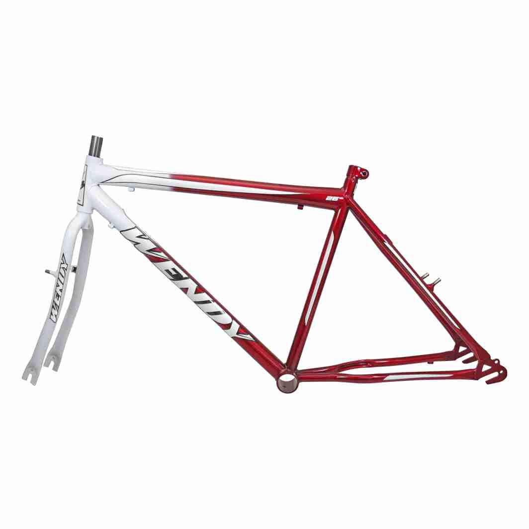 Kit 26 MTB Bicolor branco/Vermelho C/Pivo