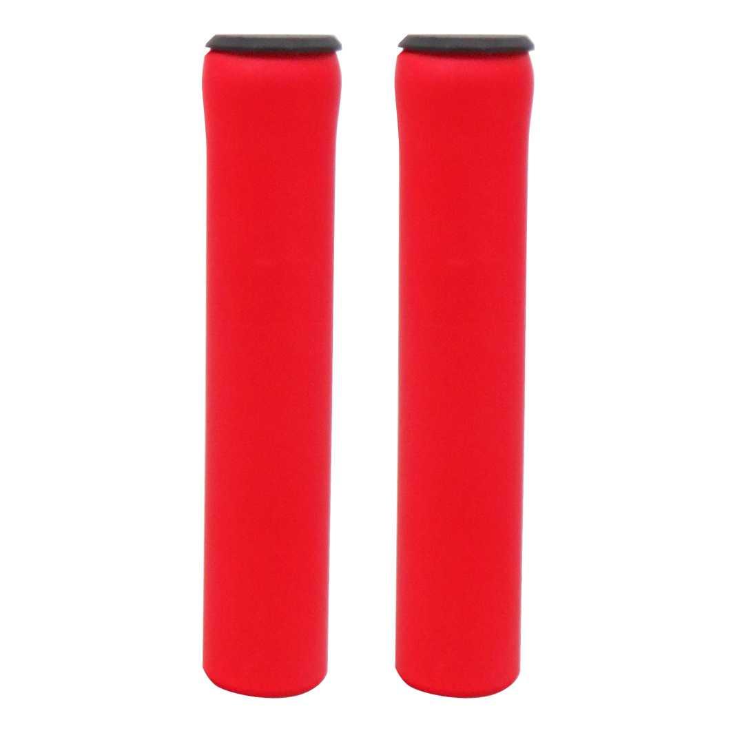 Manopla MTB Silicone Vermelha