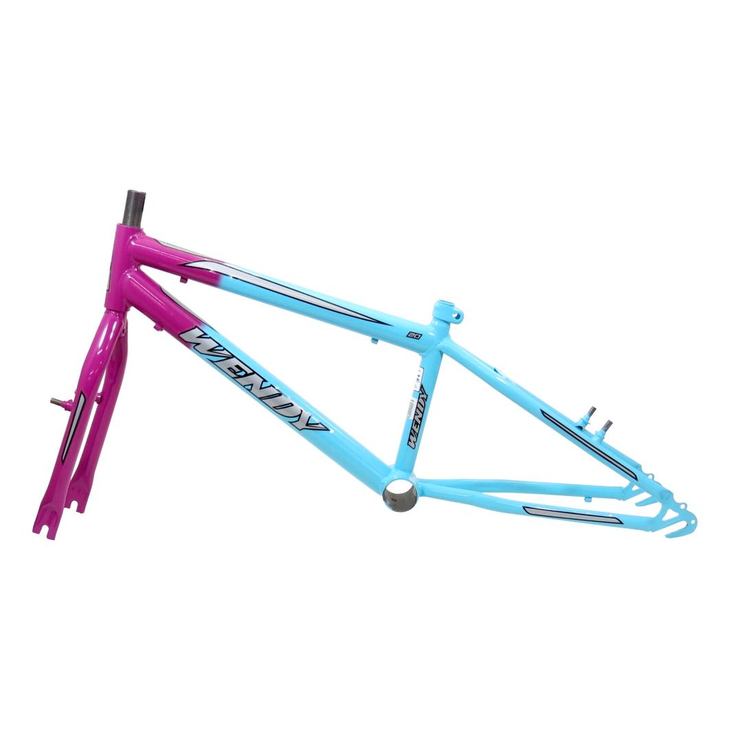 Kit 20 Rebaixado Bicolor Azul Piscina/Pink