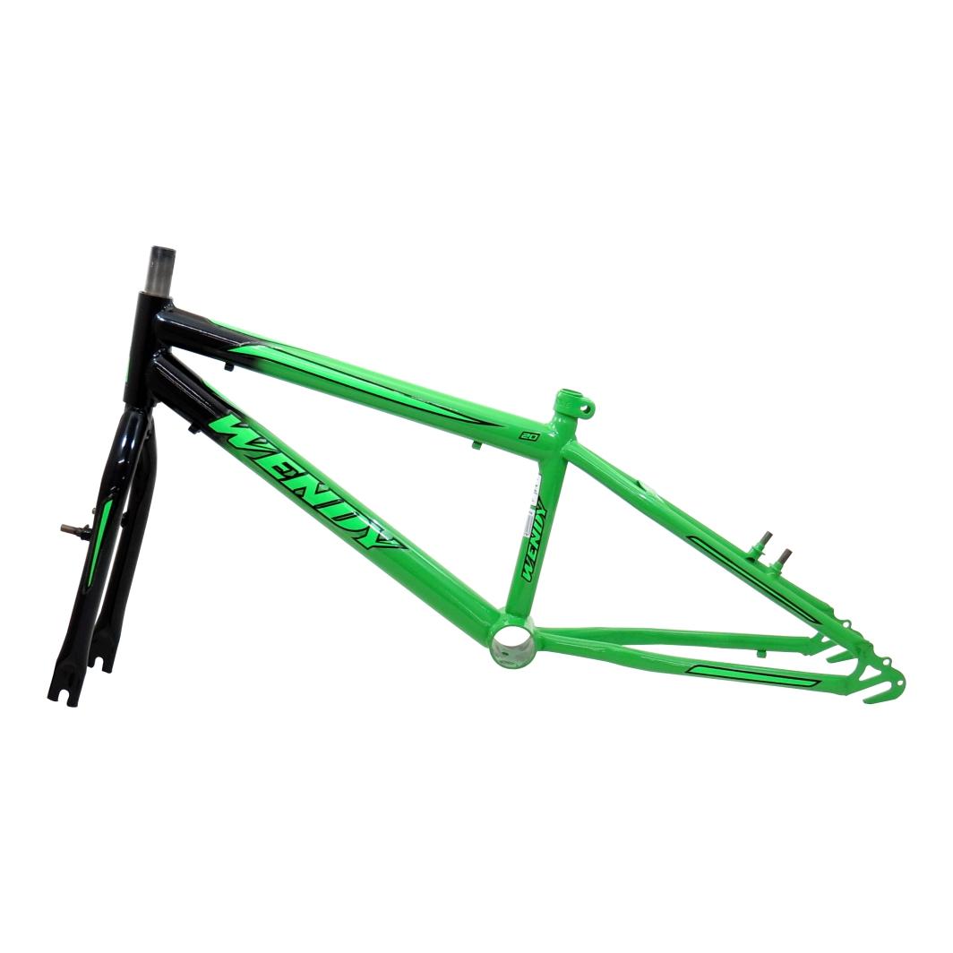 Kit 20 Rebaixado Bicolor Verde Kawasaki/Preto