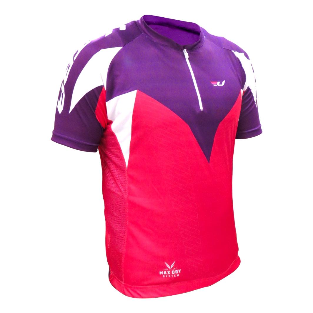 Camisa Max Dry Rosa/Lilás M