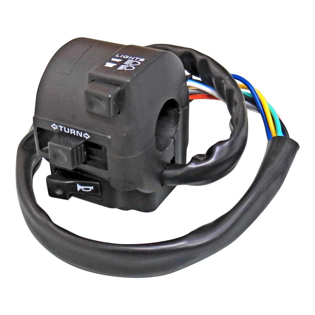 Interruptor Luz 08 Fios TITAN 150 4-8/FAN 150