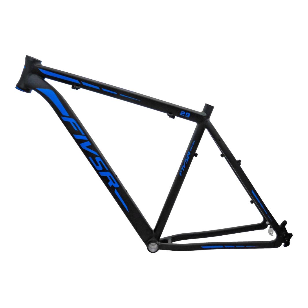 Quadro 29 Aluminio 21 Preto Fosco/Azul